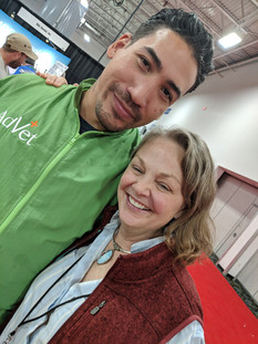 Josh M. and Cindy at Intergroom 2019