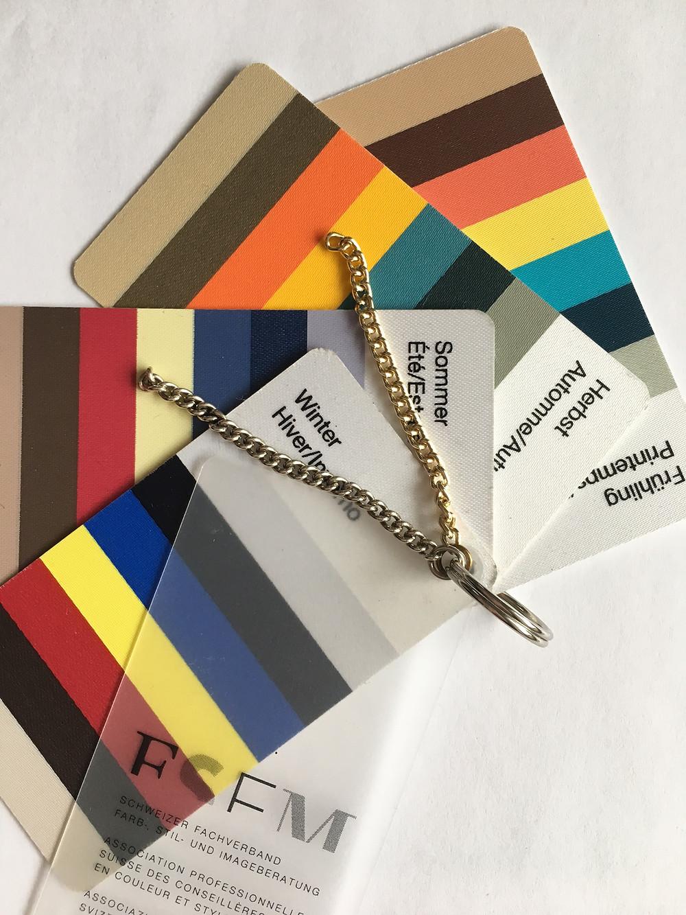 Farbenpass Farbberatung Typberatung