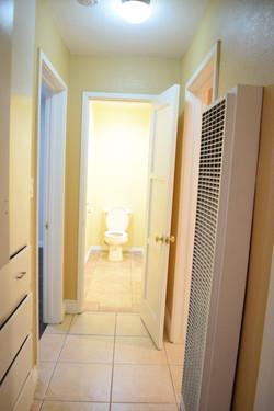 Front bathroom access