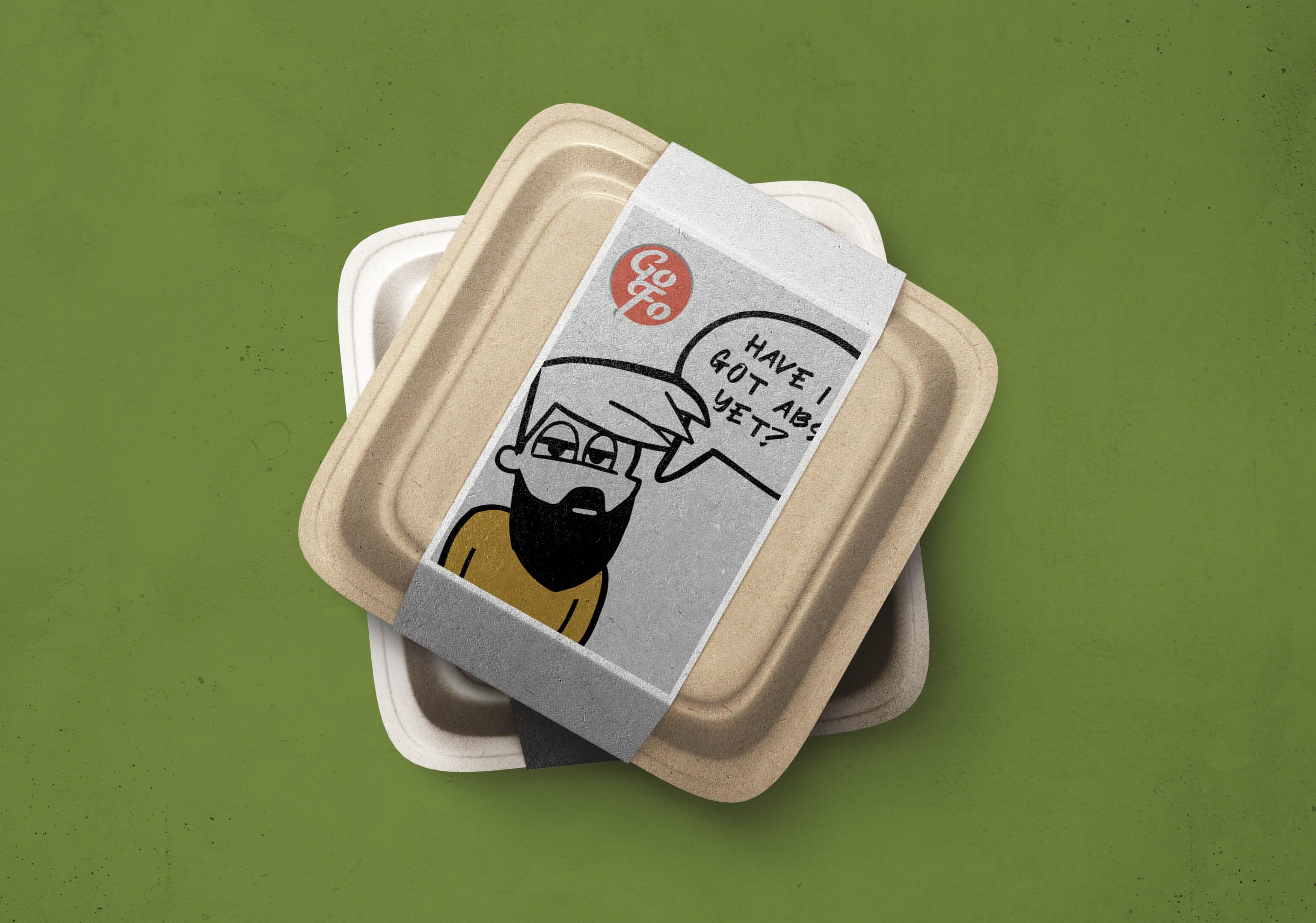 Go Foods Foodtruck Salad Box