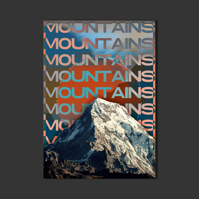 Mountains - Poster Design