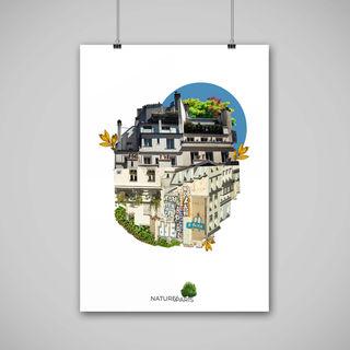 Nature In Paris - Poster Design