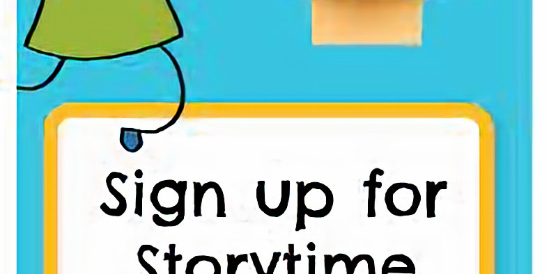 Virtual Story Time Sign Up