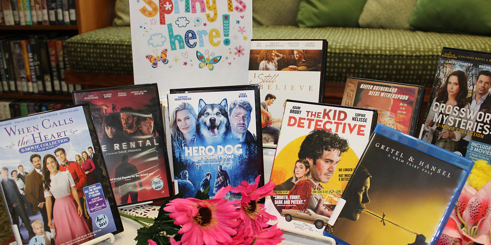 New DVD's in the Adult Department
