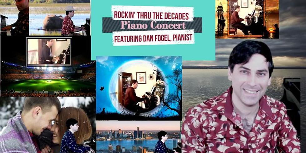 Virtual Rockin' Thru the Decades Piano Concert