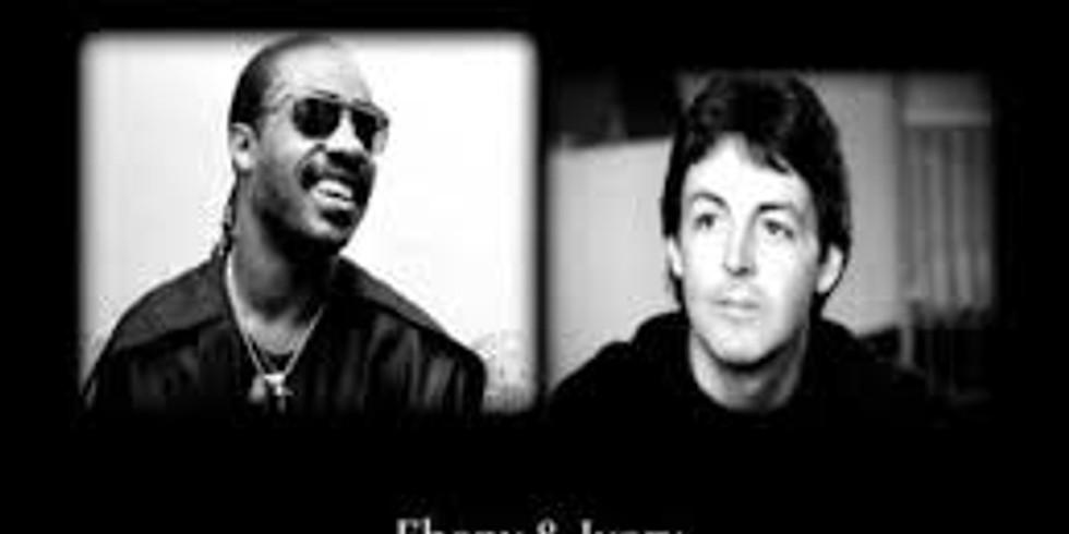 Stevie Wonder and Paul McCartney