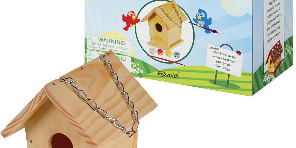 Adult Activity (build a birdhouse)