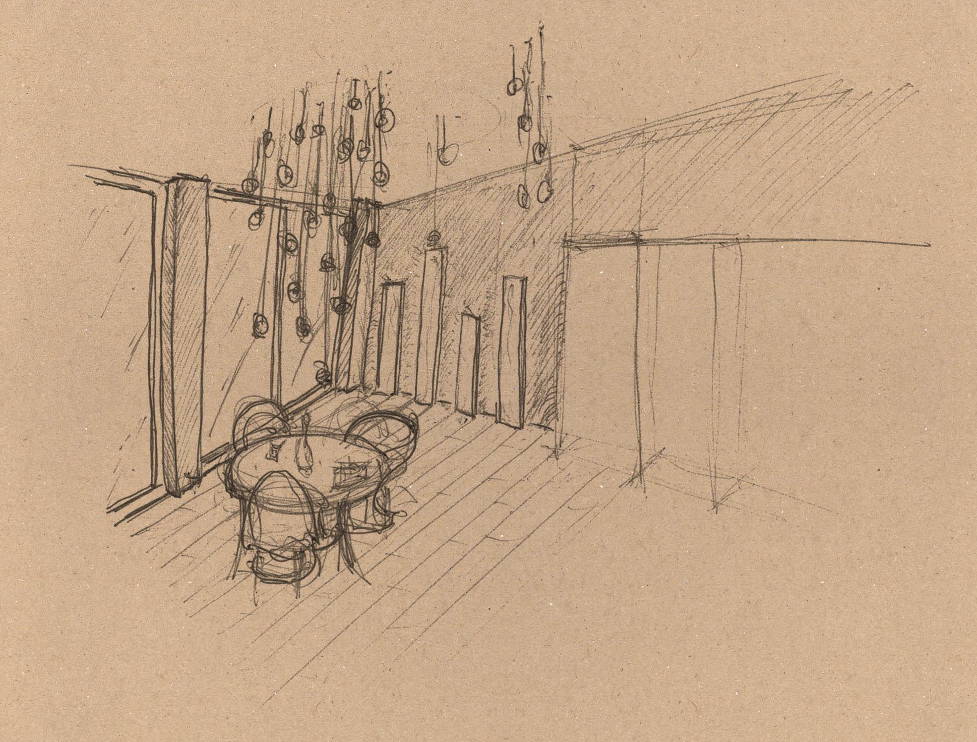 ROY skizze lampe