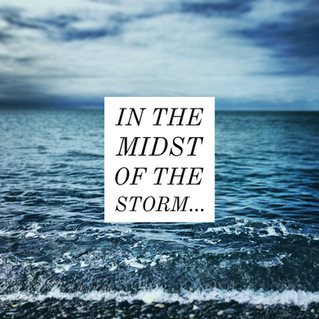 Are you in the midst of a life storm?