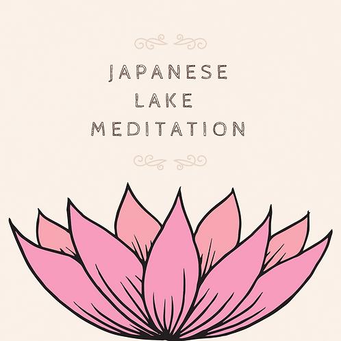 Japanese Lake Meditation