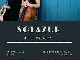 Solazur Debut Recitals!