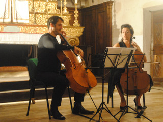 Last week I had the distinct privilege of sharing the stage with one of my favorite cellists and hum