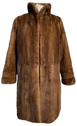 Brown Mink and Shower Proof Reversible