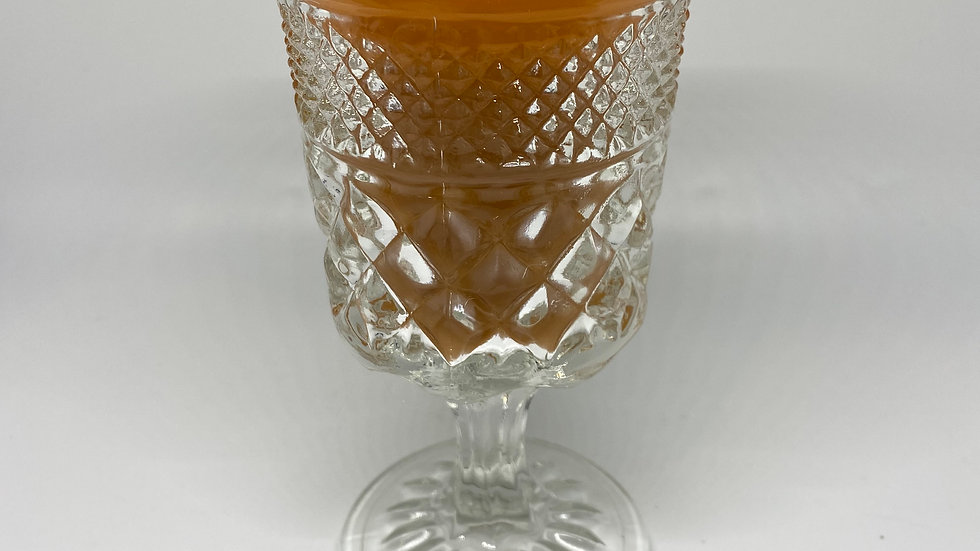 Pumpkin Spice - Goblet Glass Candle