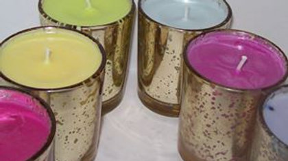 Natural Soy Decorative Candles Infused w/ Essential Oil - Votive