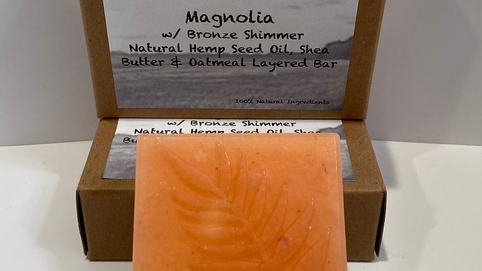 Magnolia w/ Bronze Shimmer - Layered