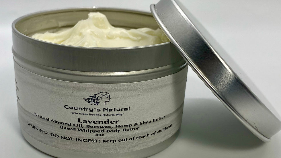 Naturally Based Whipped Body Butter
