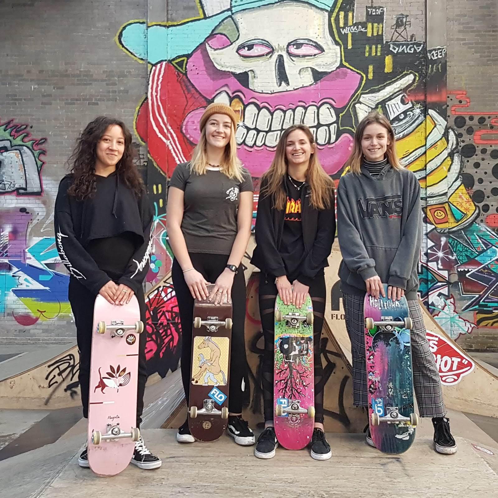 Saturday-Women and Girls Skateboard*