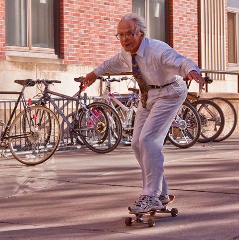 Over 30's Skateboard Session*