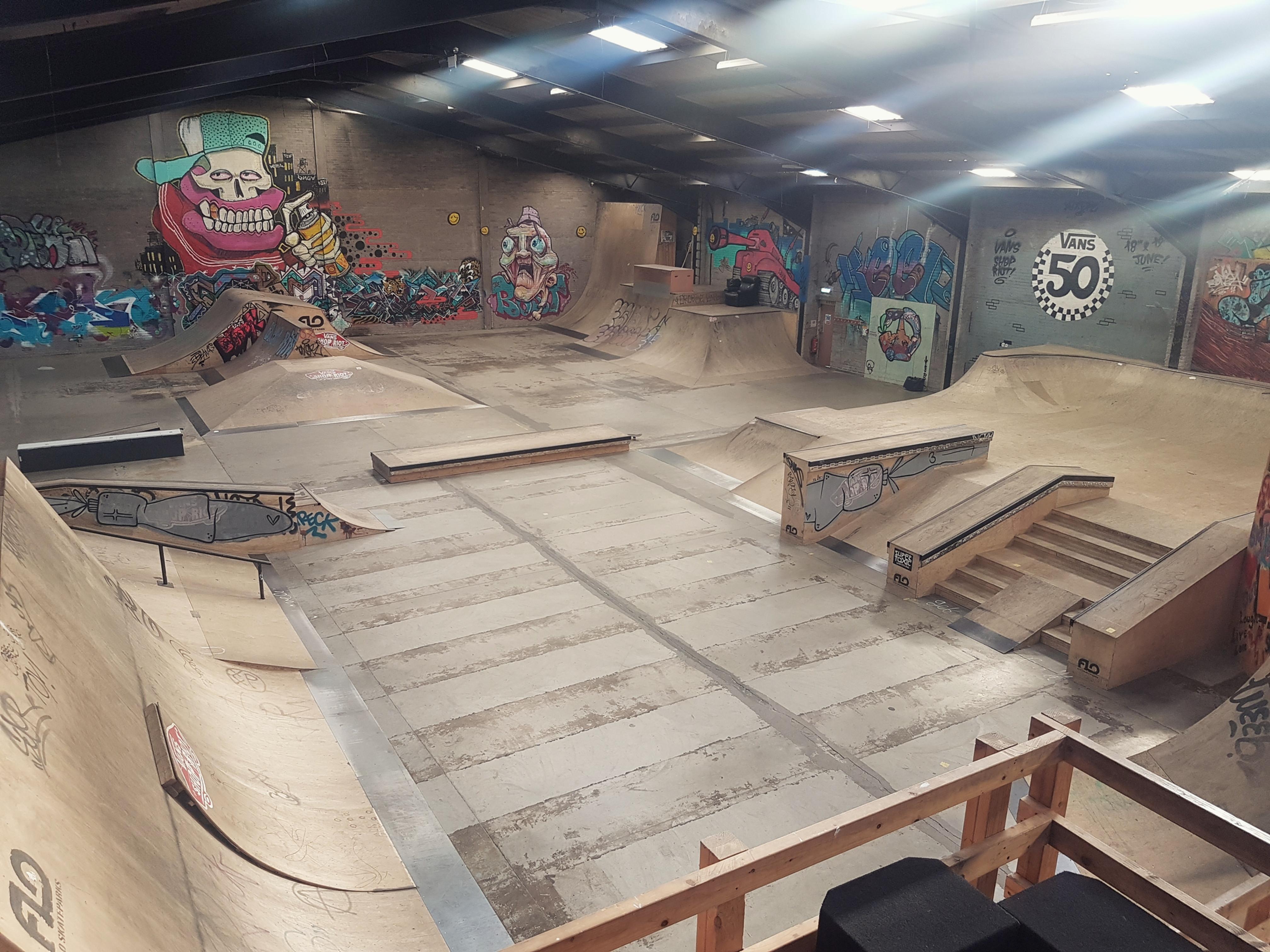 Home School Skateboard Session