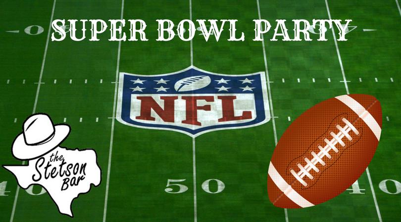 Super Bowl Potluck; Stetson Bar