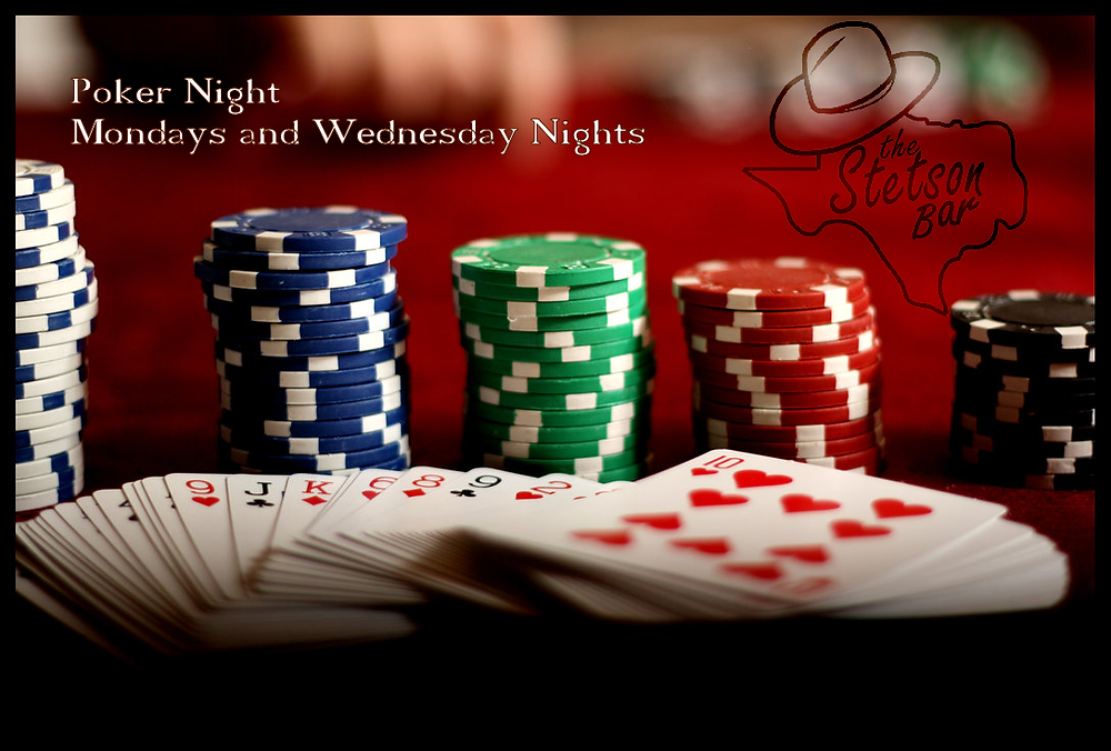 Poker Nights at The Stetson Bar