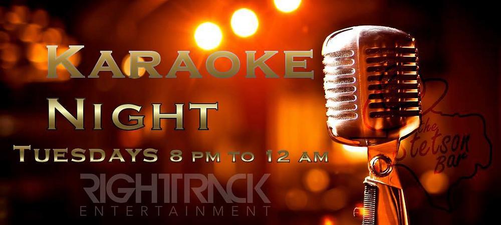 The Stetson Bar Karaoke Night Tuesdays