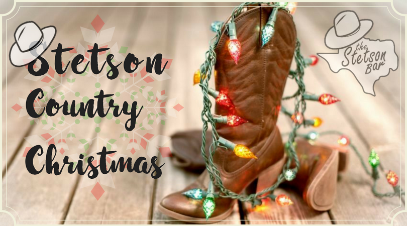 Country Christmas at The Stetson Bar in San Antonio