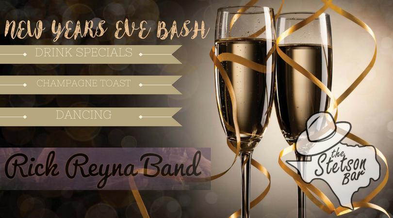 New Years Eve Bash at The Stetson Bar San Antonio