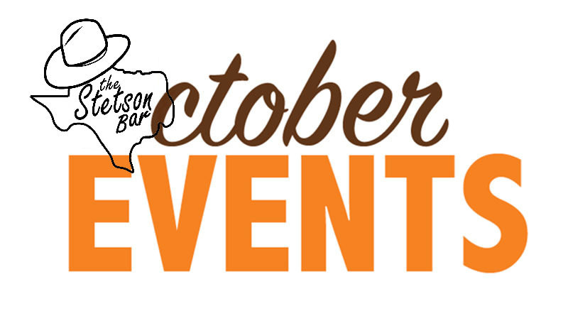 the Stetson Bar October Events