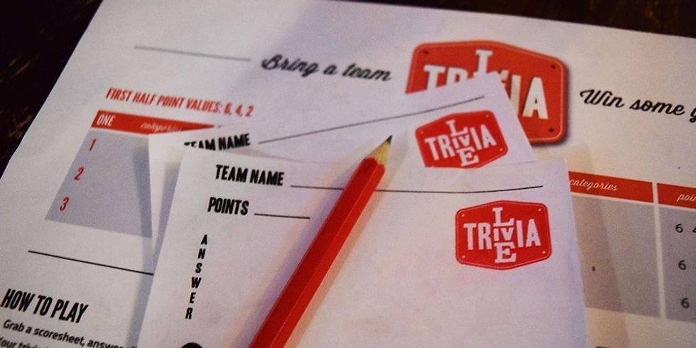Live Trivia Tuesday