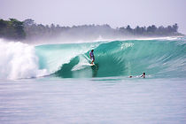 Surfing North Mentawai