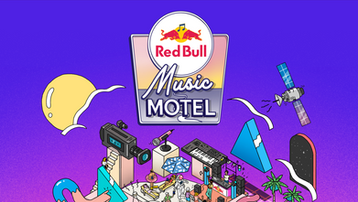 Music Motel Red Bull