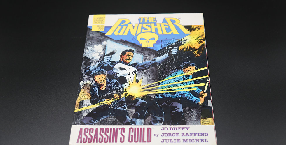 "The Punisher ""Assassin's Guild"" Comic Book"