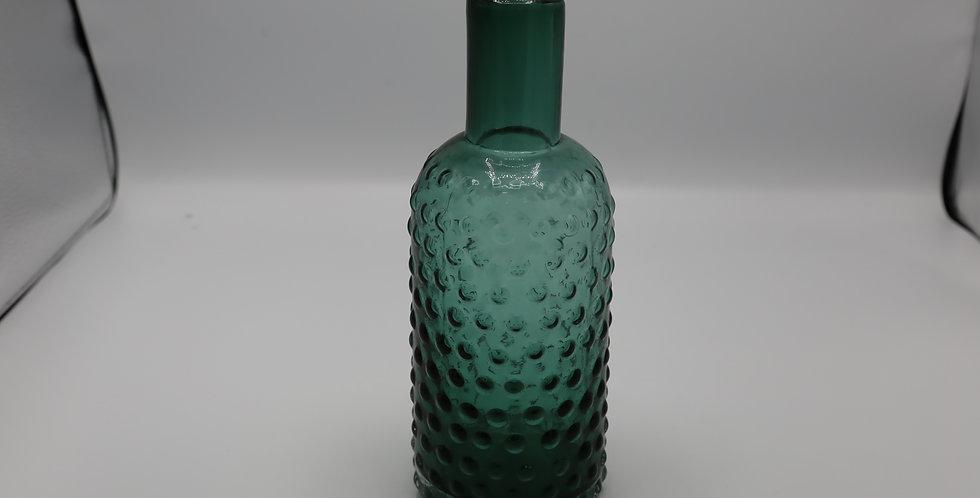 """Hobnail Vase Green 10"""""""