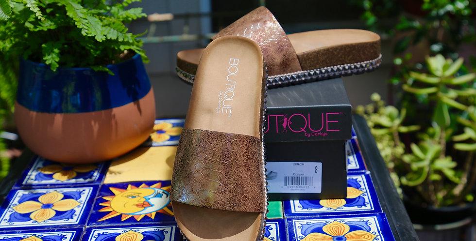 "Boutique by Corkys ""Birch"" Sandal Size 8"