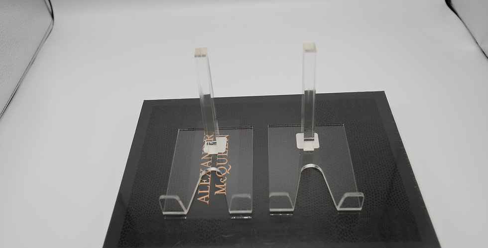 """Acrylic Book Stands 5"""" x 5"""""""