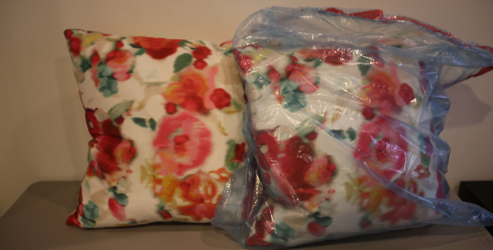 Custom Flower Pillows