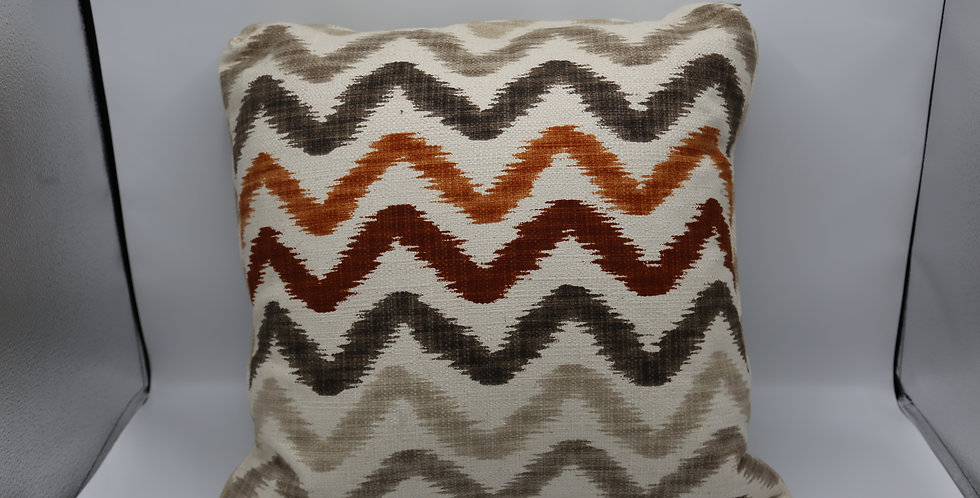 Autumn Waves Pillow