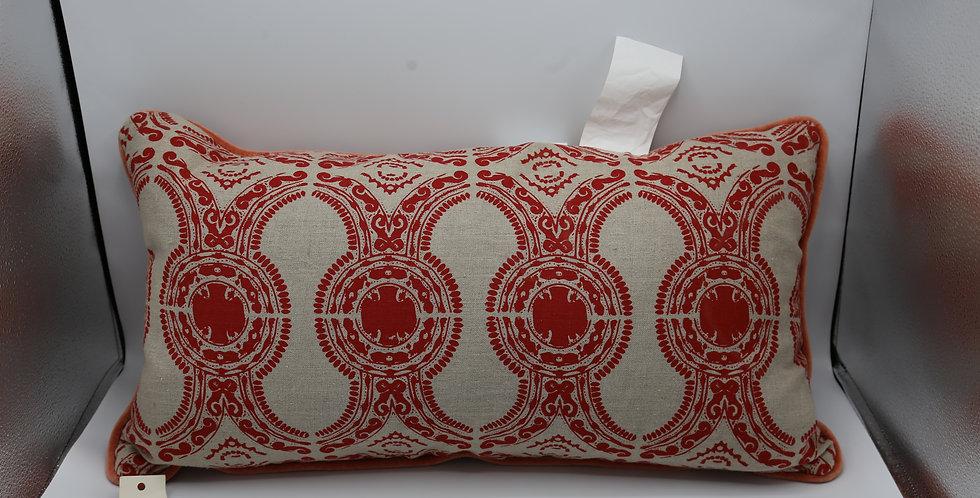 Medium Portico Red Pillow
