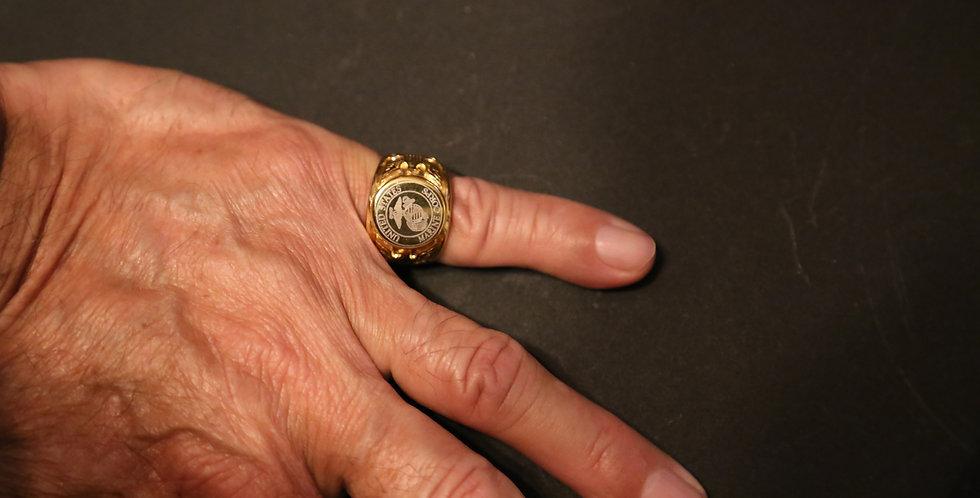 U. S. Marine Corps Ring, Size 10