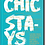 """Thumbnail: """"Chic Stays"""" Book"""