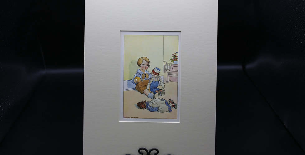 """Raggedy Ann & Raggedy Andy"" Art"