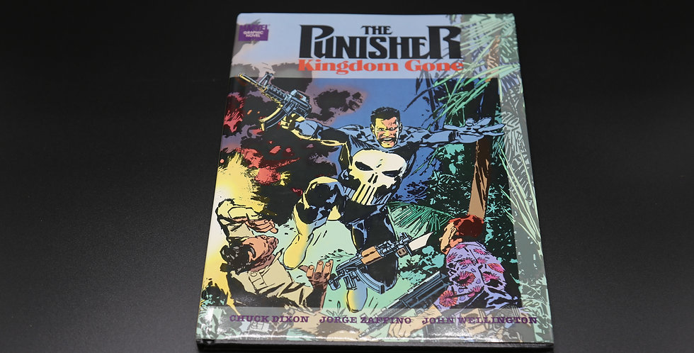 "The Punisher ""Kingdom Gone"" Comic Book"