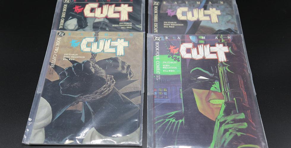 Batman: The Cult Comic Books Voume 1 thru 4