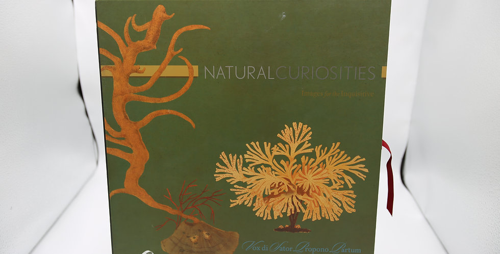Natural Curiosities Box with 14 Garden Prints Images For The Inquisitive VOL11