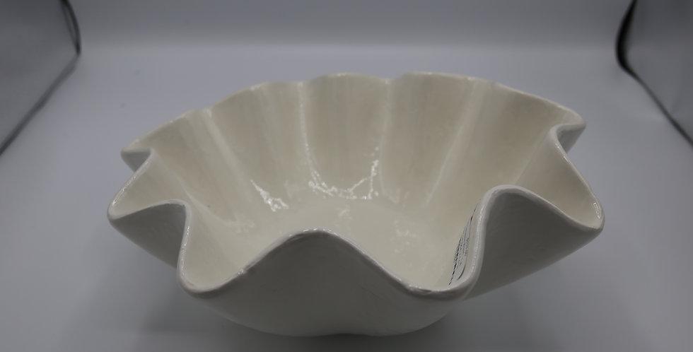 Regina Andrew Ruffle Ceramic Bowl Large