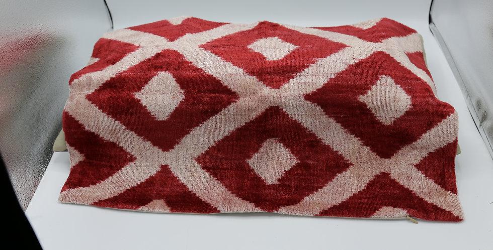 Rust Geometric Pillow Cover