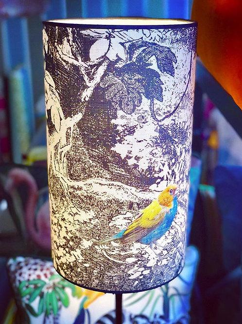 "Lampe ""Der bunte Vogel"""