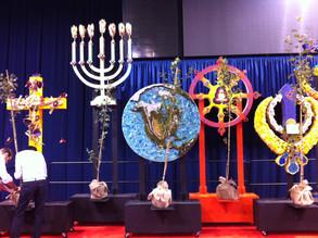 Theosophical Society of Chicago Presentation with Dalai Lama